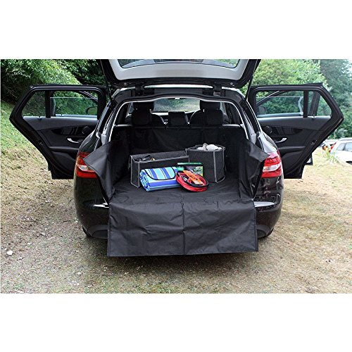 UKB4C Heavy Duty Water Resistant Car Boot Liner Mat Bumper Protector for XC70 All Models