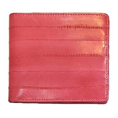 Amazon.com: Monedero con media cartera, piel auténtica de ...