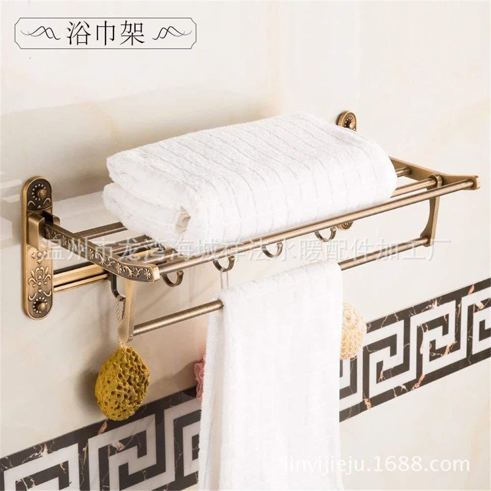 上等な Hair Dryer Holders Hair Dryer Rack) : Accessories バスルームハードウェアキットに取り付けられたコンチネンタルアンティークスペースアルミ製バスルームタオル掛け、ヘアドライヤーラック Towel (色 : Towel Rack) Towel Rack B07PG8PFD9, ゲーム&ホビー ケンビル Kenbill:a16965ec --- rcavalcantiadvogados.com.br