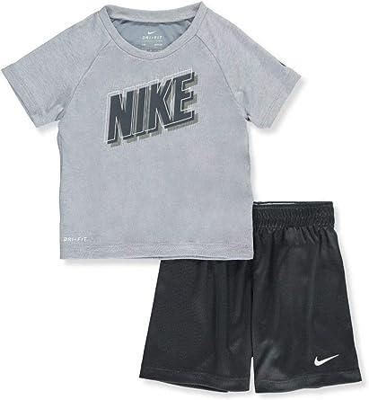 A fondo fantasma Tipo delantero  Amazon.com: Nike - Conjunto de pantalones cortos para niño (2 piezas), 24  meses: Clothing