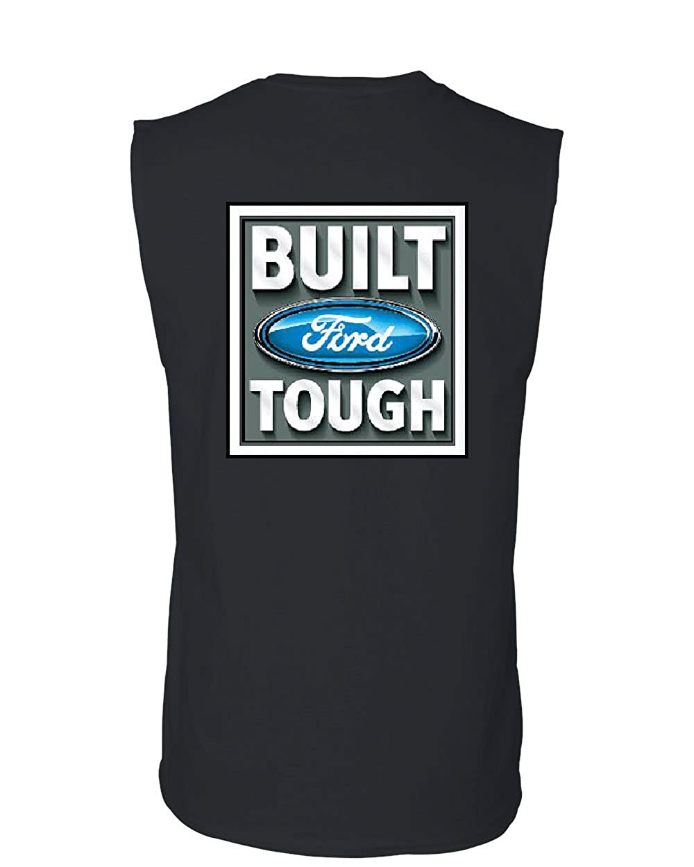 Built Tough Muscle Shirt Licensed Ford Truck 4x4 F150 Mustang