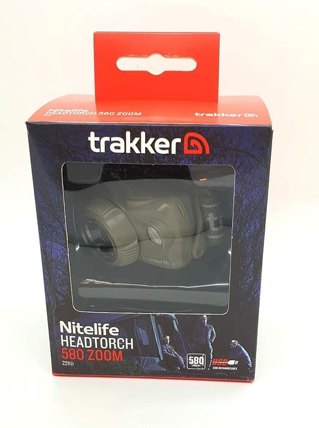 Trakker Nitelife Headtorch 580 Zoom NEW Carp Fishing Head Lamp 221111