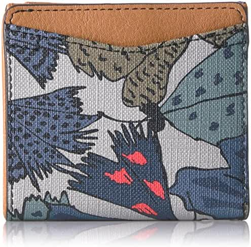Fossil Caroline Rfid Mini Wallet Grey Multi Wallet