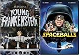 Young Frankenstein + Spaceballs DVD Mel Brooks Comedy Spoof Double Feature Set