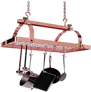 product image for Enclume PR1NBWG CP Classic Rectangle Ceiling Rack, Copper