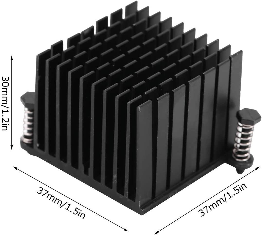 Board Cooling Heatsink Quick Heat Dissipation 10Pcs//Set Aluminium Heat Sink Small Size for Routers Motherboard Power Supplies Amplifiers