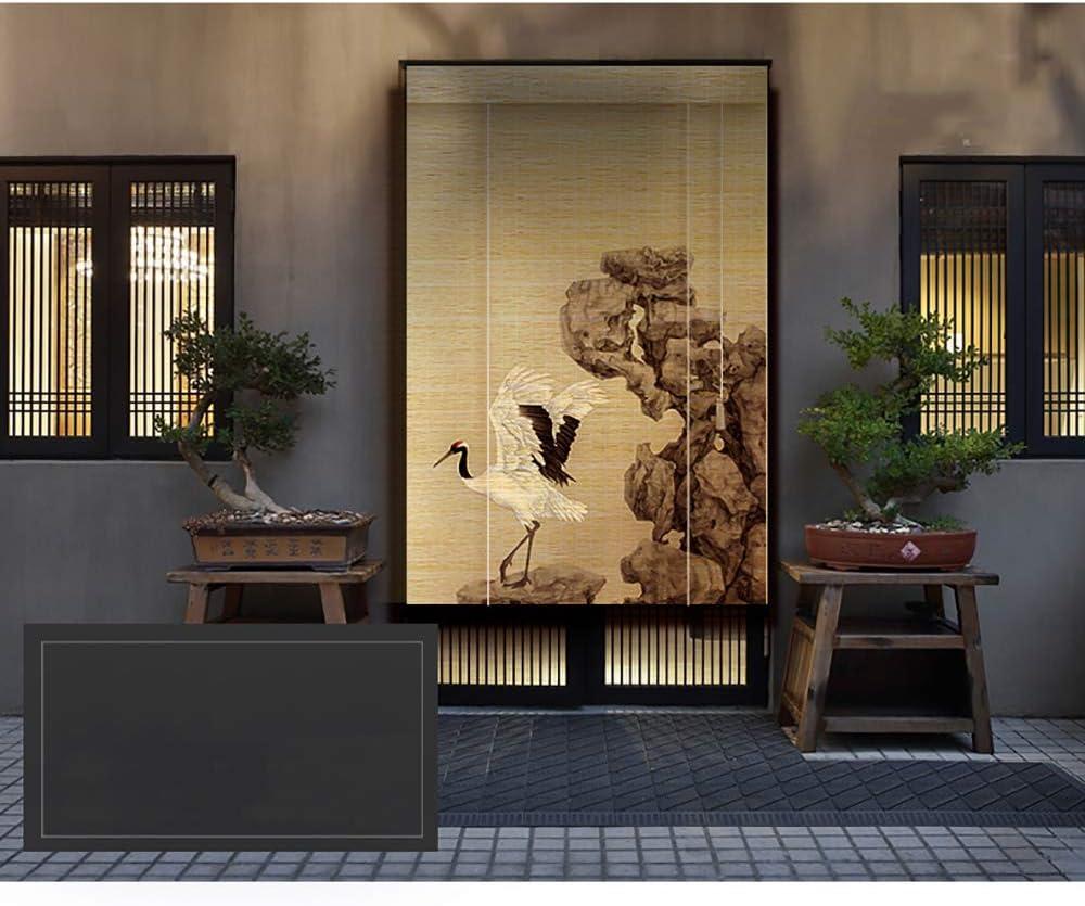 MILAYA JI Bin Shop® Sombrilla De Bambú Cortina De Partición Cortina Moderna China Persiana Enrollable Balcón Casa Tienda De Té, Selección De Varios Tamaños (Color : 1#, Tamaño : 120x180cm): Amazon.es: Hogar
