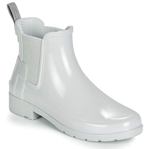 ae9a72ec Hunter Original Refined Gloss Chelsea Ladies Boot: Hunter: Amazon.es: Zapatos  y complementos