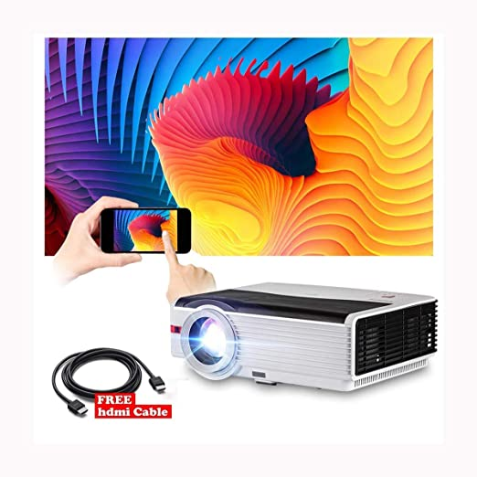 Ai LIFE Proyector LED HD Proyector de Video Multimedia de 8400 ...