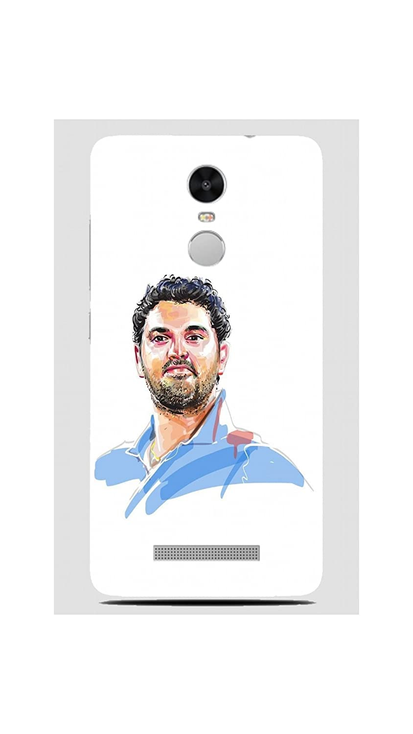 Inkonn yuvraj singh art case cover for xiaomi redmi amazon in electronics