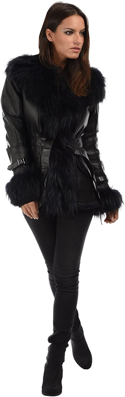 Intuitions Paris Coat Winter Collection Women Black