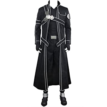 Sword Art Online Kirigaya Kazuto/Kirito Movie Ver Costume Set All ...
