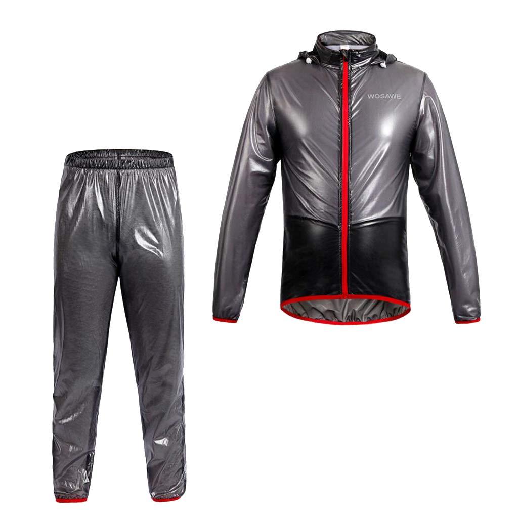 perfeclan Vêtements de Pluie Moto Équipement pour Sports de Plein Air Camping Pêche Randonnée Imperméable