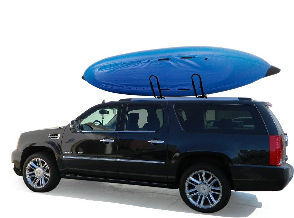 Amazon.com: PaylessRack® Steel Universal J Shape Style Bar Kayak Canoe  Paddleboard Snowboard Surfboard Wakeboard Roof Rack Carrier Fit Crossbar  Mount W/ Tie ...