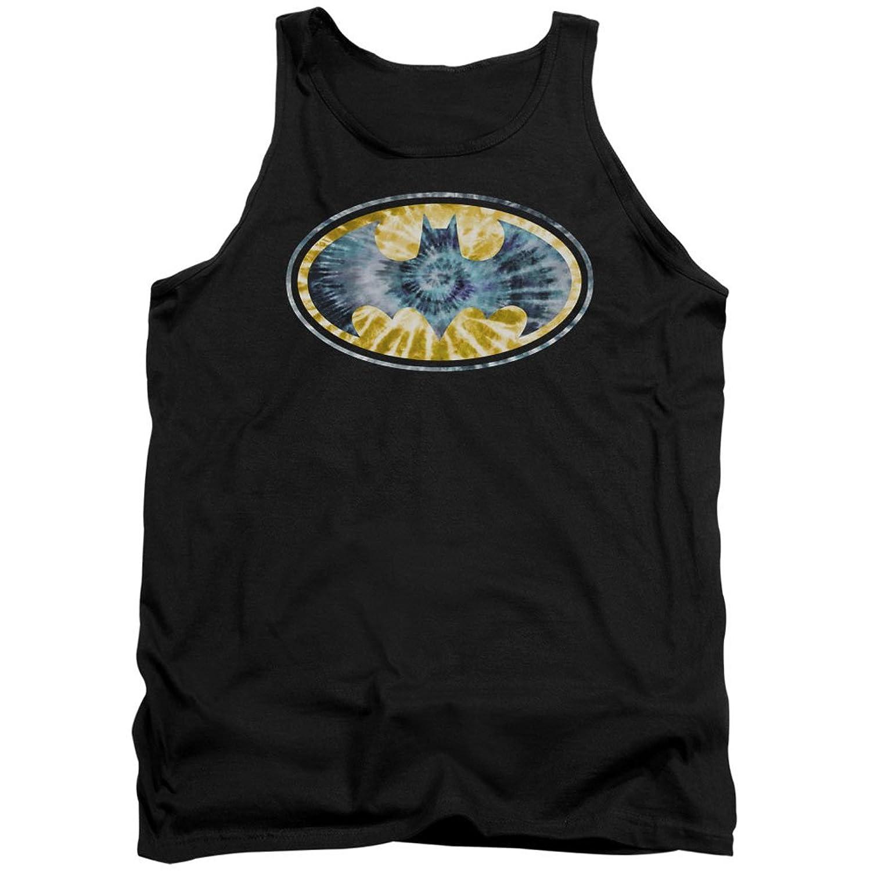 Batman DC Comics Tie Dye Logo Adult Tank Top Shirt