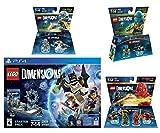Lego Dimensions Starter Pack + Ninjago Team Pack + Jay Fun Pack + Zane Fun Pack Playstation 4 PS4