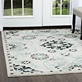 Home Dynamix Boho 32186-453 Indoor Area Rug | Trendy Bohemian Chic Rug with Rich Fibers & Comfortable Feel | Distressed Finish | For Living Room, Bedroom, Dining Room, Kitchen, 7'9''X10'2''