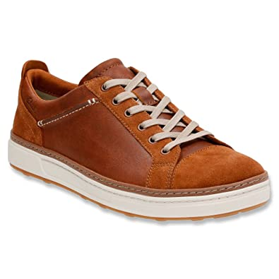 Mens Clarks Lorsen Edge Sneakers Black Combi Leather RIN52803
