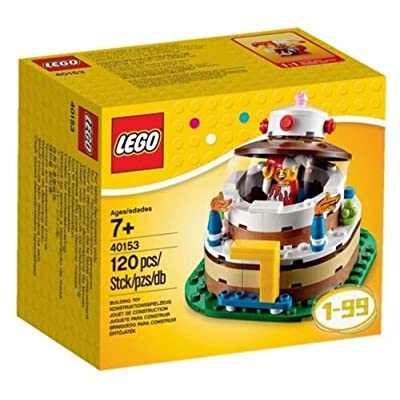 LEGO Birthday Decoration Cake Set 40153: Toys & Games [5Bkhe0302776]