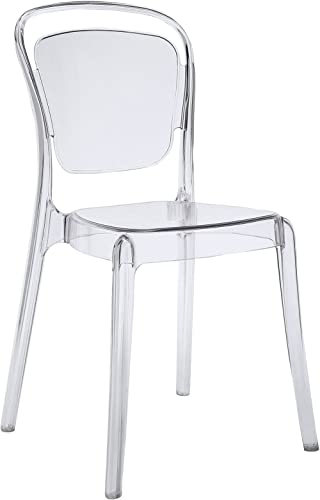 Modway Entreat Modern Acrylic Kitchen and Dining Room Chair