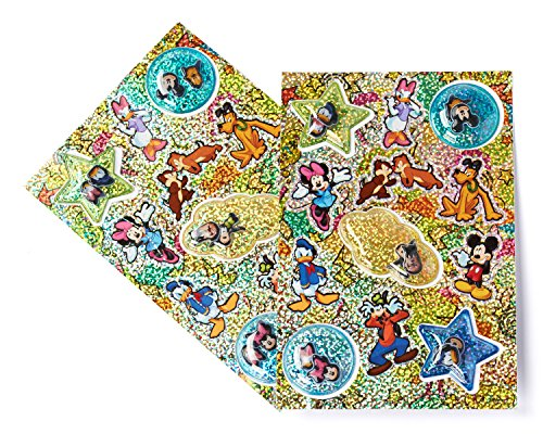 Disney Mickey Mouse Clubhouse Sticker Sheets, Holographic, 2