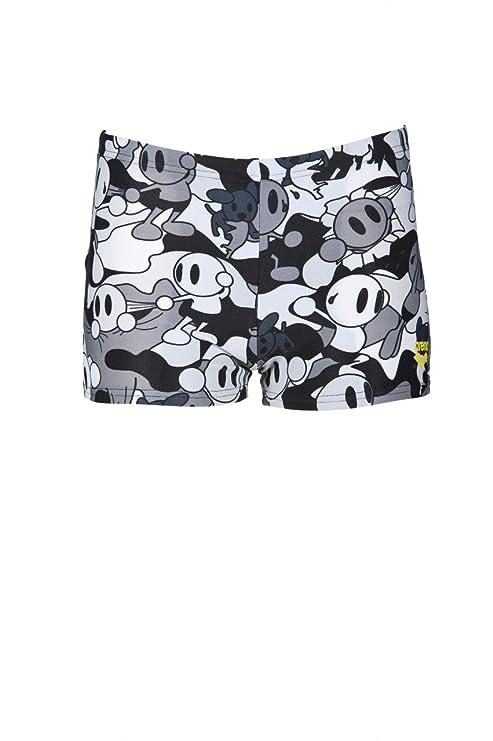 49a7f202a3 Amazon.com : arena Boys Camo Kun Swim Shorts Black : Sports & Outdoors