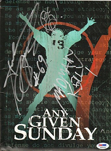 Andrew Bryniarski Signed Original Any Given Sunday Press Kit Folder COA - PSA/DNA Certified
