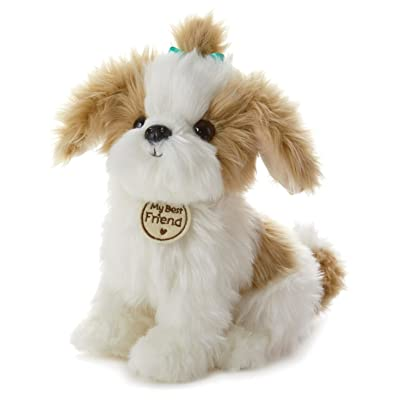 Hallmark My Best Friend Large Shih Tzu Plush Stuffed Animal: Toys & Games
