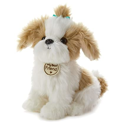 Amazoncom Hallmark My Best Friend Large Shih Tzu Plush Stuffed