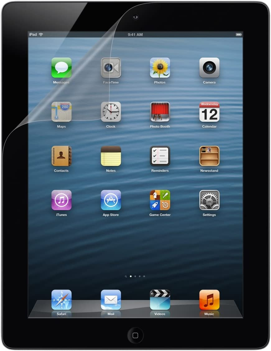 Belkin Transparent Screen Protector for iPad 4th, iPad 3 and iPad 2 (2-Pack)