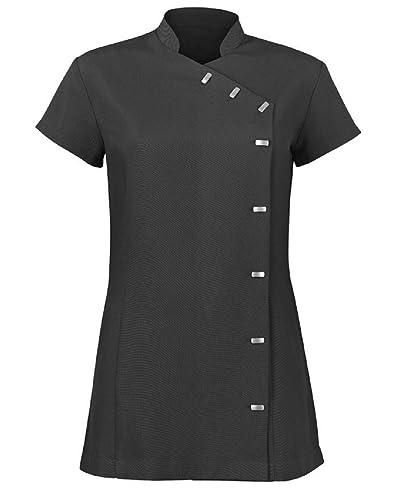 Alexandra womens easycare wrap beauty tunic health beauty for Spa uniform amazon