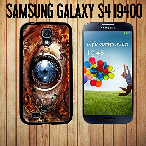 Steampunk Eye of Knowledge and Power Custom made Case/Cover/skin Samsung Galaxy S4-Black- Rubber Case