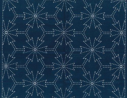 Sashiko fabric indigo dyeing 11 Nadeshiko