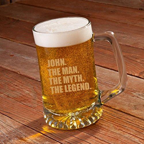 Engraved 25 Oz Sports Mug (The Man. The Myth. The Legend. 25 oz. Sports Mug)