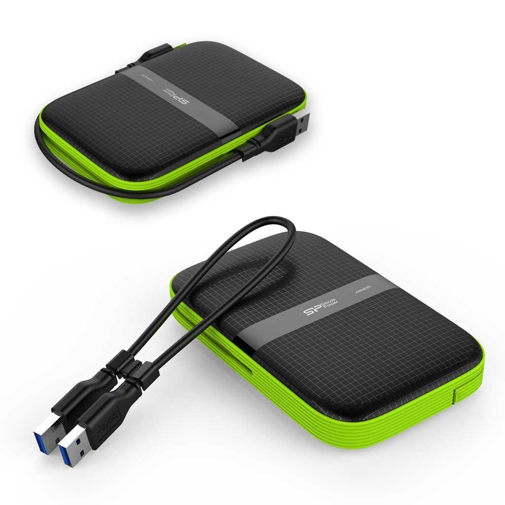 Silicon Power 4TB Rugged Portable External Hard Drive Armor A60, Shockproof USB 3.1 Gen 1 for PC, Mac, Xbox and PS4, Black by SP Silicon Power (Image #7)