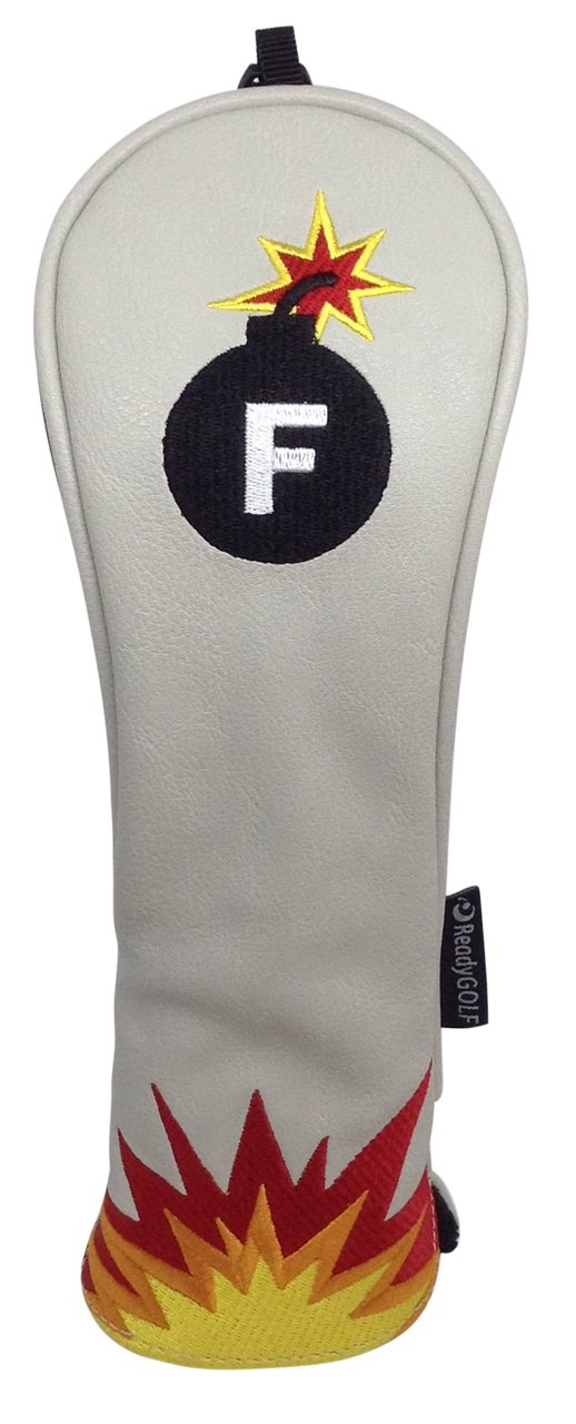 ReadyGolf - Fun Hybrid Headcover - F-Bomb