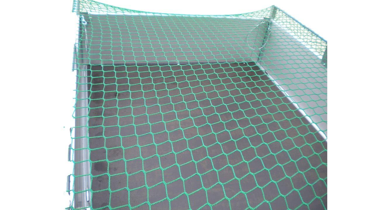 Pendentif Filet de protection pour r/éseau Container 2,5/x 1,5/m knotenlos 250/x 150/cm