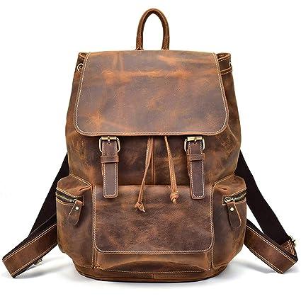 4c7315f50e98 Amazon.com: Speciclny Motorcycle Bag PU Leather Motorcycle Backpack ...