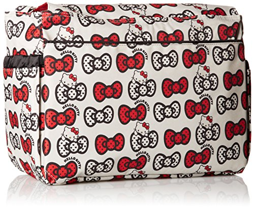 Ju-Ju-Be HK LS Better - Bolso bandolera para pañales, diseño Hello Kitty Lucky Stars, multicolor rosso