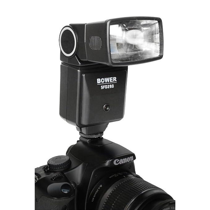 Bower Digital Automático de flash para Sony Alpha A200, A230, A300 ...