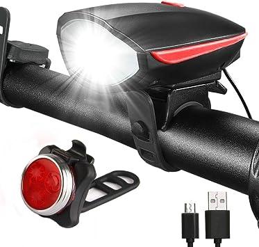 Luz de bicicleta led conjunto - Juego de iluminación para ...