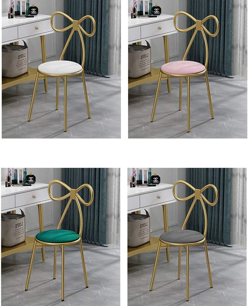 Xewneg Modern Minimalist Makeup Chair Dressing Table Stool Dining Chair Bedroom Backrest Chair Table And Chair