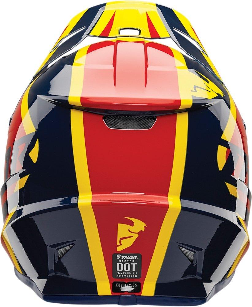Amazon.es: Casco de motocross Thor Sector Ricochet, casco de enduro y motocross