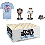Funko Star Wars Smuggler's Bounty Subscription Box, Podracing Theme, August 2019, XL T-Shirt, Multicolor