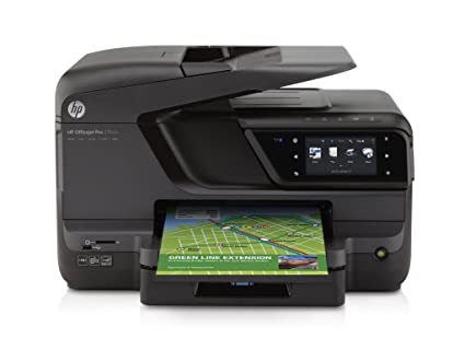 HP Officejet Pro 276dw - Impresora multifunción de Tinta B/N 20 PPM, 15 PPM a Color, Negro