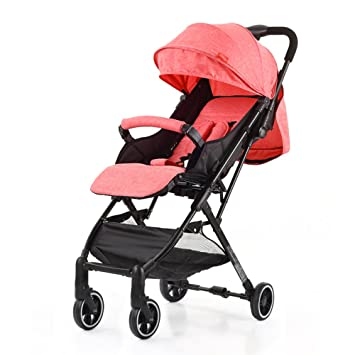 Cochecito De Bebé Puede Sentarse Reclinable Ultra Light Portable Mini Baby Car 0-1-3 Año Viejo Paraguas Carro Plegable,A-Red: Amazon.es: Deportes y aire ...