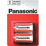 Panasonic C Size Battery Zinc Carbon - 2 pack