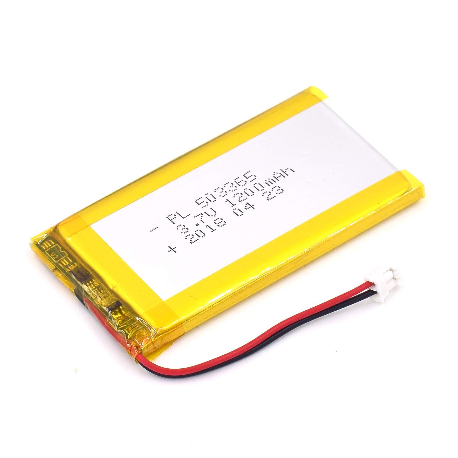 Bateria Lipo 3.7v 1200mah 503365