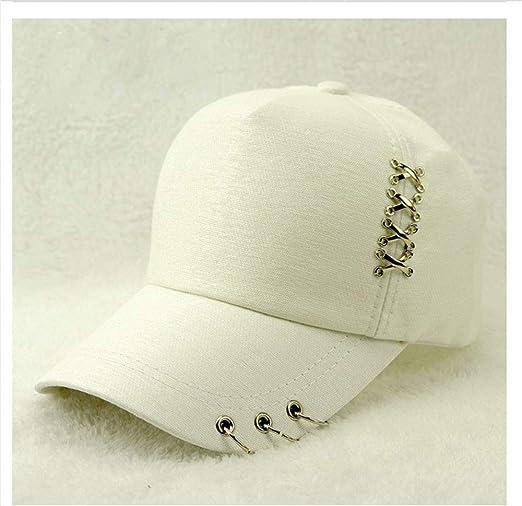 Gorra de béisbol con tachas, Sombrero clásico, Visera de ...