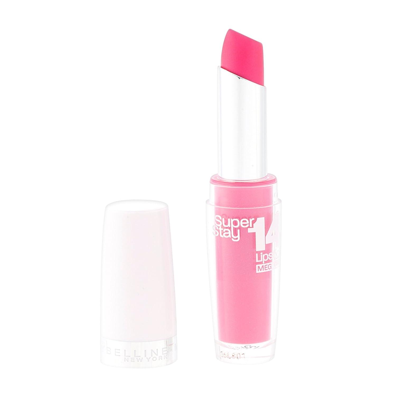 Maybelline Superstay 14 Hour Wear Lipsticks 3.5g - 135 Flash of Fuchsia